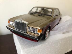 【送料無料】模型車 モデルカー スポーツカー ロールスロイスシルバースピリットレッドゴールドボスボスrolls royce silver spirit 1987 redgold bos061 bos 118