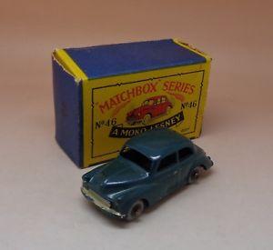 【送料無料】模型車 モデルカー スポーツカー マッチモコモーリスマイナーrare matchbox moko lesney morris minor 1000 rf 46 boite dorigine 172 1958