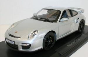 【送料無料】模型車 モデルカー スポーツカー ダイカストポルシェnorev 118 diecast 187594 2007 porsche 911 gt2 silver