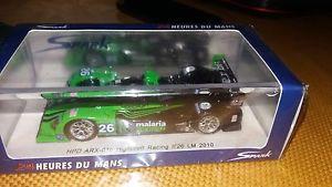 【送料無料】模型車 モデルカー スポーツカー スパーク#ルマンspark 143 hpd arx01c 26 le mans 2010 s2570