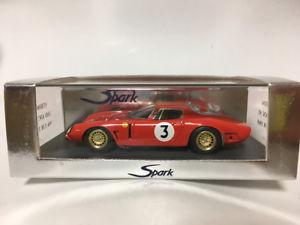 【送料無料】模型車 モデルカー スポーツカー スパーク#ルマンspark 143 iso a3c 3 9th le mans 1965 s0386