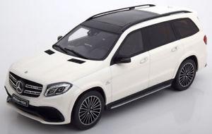 【送料無料】模型車 モデルカー スポーツカー メルセデスホワイト118 gt spirit mercedes amg gls 63 50 years amg 2016 white