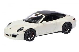 【送料無料】模型車 モデルカー スポーツカー ポルシェカレラカブリオレschuco porsche 911 991i carrera gts cabriolet weiss 118