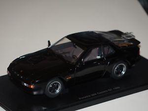 【送料無料】模型車 モデルカー スポーツカー ポルシェカレラporsche 924 carrera gt 1980 schwarz 118 autoart neu amp; ovp 88001