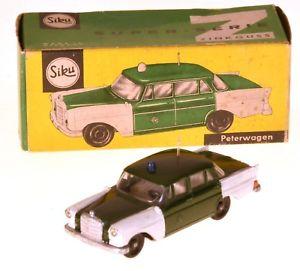 【送料無料】模型車 モデルカー スポーツカー メルセデスオリジナルボックスピーターカーsiku v 250 mercedes 190d peterwagen in originalbox