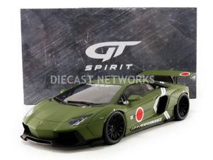 【送料無料】模型車 モデルカー スポーツカー グアテマラポンドgt spirit 118 lb works lp 7004 gts18502k
