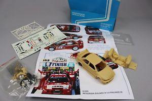 【送料無料】模型車 モデルカー スポーツカー エクスアンプロヴァンスムラージュzc556 provence moulage k1505 vehicule 143 mitsubishi evo vi wrc finlande 1999