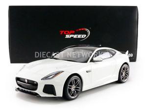 【送料無料】模型車 モデルカー スポーツカー ジャガークーペtop speed 118 jaguar ftype svr coupe 2016 ts0042