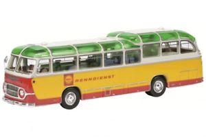【送料無料】模型車 モデルカー スポーツカー シェルレーシングサービスバスschuco pror 08965 143 neoplan shell renndienst bus neu