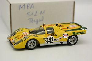 【送料無料】模型車 モデルカー スポーツカー キットモンフェラーリmツアードフランスmpa kit mont 143 ferrari 512 m tergal tour de france auto 1971 n142