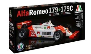 【送料無料】模型車 モデルカー スポーツカー アルファロメォーミュラモデルキットalfa romeo 179 179c 197981 f1 formula 1 depailler giacomelli 112 model kit
