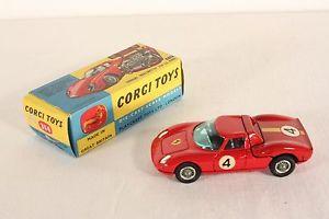 【送料無料】模型車 モデルカー スポーツカー コーギーフェラーリルマンボックス#ミントcorgi toys 314, ferrari berlinetta 250 le mans, mint in box   ab620