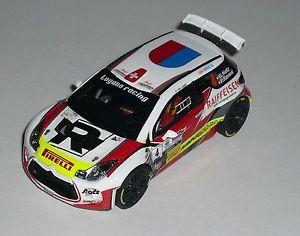【送料無料】模型車 モデルカー スポーツカー シトロエンラリーデルティチーノモデルスケールcitroen ds3 r5 hotz rally del ticino 2016 special model 143 scale