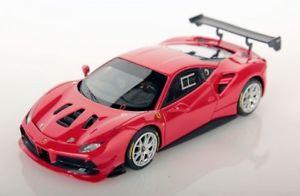 【送料無料】模型車 モデルカー スポーツカー フェラーリチャレンジロッソコルサferrari 488 challenge rosso corsa red