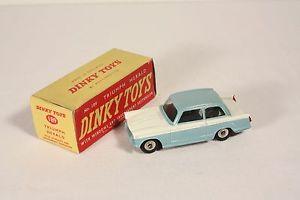 【送料無料】模型車 モデルカー スポーツカー トライアンフヘラルドボックス#ミントdinky toys 189, triumph herald, blue, mint in box,          ab523