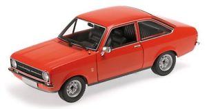 【送料無料】模型車 モデルカー スポーツカー フォードエスコートオレンジハンドルford escort ii orange 1975 lhd