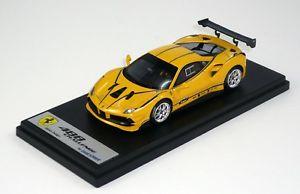 【送料無料】模型車 モデルカー スポーツカー モデナカラーリングスケールferari 488 challemge giallo modena with livery looksmart ls476a scale 143
