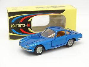 【送料無料】模型車 モデルカー スポーツカー ランボルギーニpolitoys 143 lamborghini 3500 bleue 539