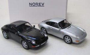 【送料無料】模型車 モデルカー スポーツカー ポルシェカレラセット2 er set porsche 911 993 carrera 1993 norev 118