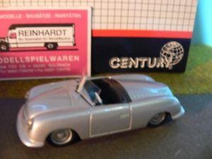 【送料無料】模型車 モデルカー スポーツカー ポルシェカブリオレシルバーメタリック143 amr century porsche 365 cabriolet nr1 silbermetallic 2500