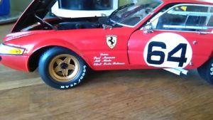 【送料無料】模型車 モデルカー スポーツカー フェラーリデイトナferrari daytona 118