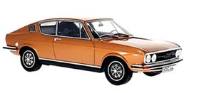 【送料無料】模型車 モデルカー スポーツカー ボスクーペアウディモデルbos models 190866 audi 100 coupe s 1973 copper
