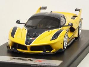【送料無料】模型車 モデルカー スポーツカー ferrari fxxk 1000cv 2015 15 giallo tristratoblu 143 looksmart ls445h