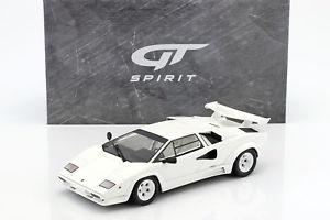 【送料無料】模型車 モデルカー スポーツカー ランボルギーニグアテマラlamborghini countach lp500 qv baujahr 1987 wei 118 gtspirit