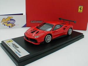 【送料無料】模型車 モデルカー スポーツカー ロッソスクーデリアフェラーリチャレンジlook smart ls476c ferrari 488 challenge rosso scuderia rot 143 neu