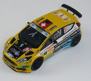 【送料無料】模型車 モデルカー スポーツカー ford fiesta r5 carron rally du valais 2016 hi fi special model 143 scale