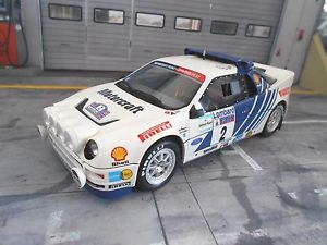 【送料無料】模型車 モデルカー スポーツカー フォードラリー#オットーford rs200 rs 200 grb rallye rac gb 1985 2 blomqvist neu otto 118