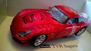 【送料無料】模型車 モデルカー スポーツカー 2005 tvr sagaris revell 118tvr sagaris 2005 revell 118