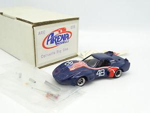 【送料無料】模型車 モデルカー スポーツカー アリーナキットモンターシボレーコルベットグリーンウッドミッドオハイオarena kit monter 143 chevrolet corvette greenwood big one n48 mid ohio 74