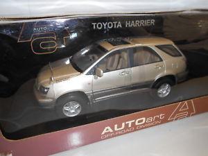 【送料無料】模型車 モデルカー スポーツカー aa70036 by autoart toyota harrier rhd 118