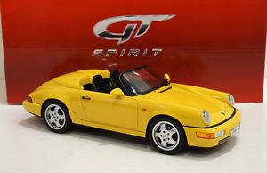 【送料無料】模型車 モデルカー スポーツカー ポルシェスピードグアテマラporsche 964 speedster 118 gt008cs gt spirit