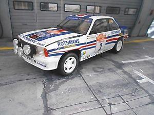 【送料無料】模型車 モデルカー スポーツカー オペルアスコナラリーサンレモ#ネットワークopel ascona b 400 gr4 rallye san remo 1982 3 rhrl rothm umbau base ixo 118