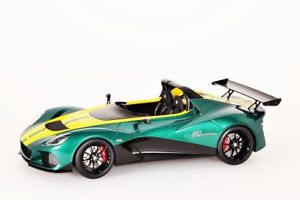 【送料無料】模型車 モデルカー スポーツカー グリーンイエローストライプlotus 3eleven grn gelbe streifen autoart 118 neuovp