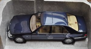 【送料無料】模型車 モデルカー スポーツカー メルセデスベンツロングmercedes benz s 500 lang v140 azuritblau norev 118
