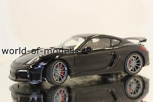 【送料無料】模型車 モデルカー スポーツカー ポルシェケイマングアテマラschuco 450040100 porsche cayman gt4 schwarz 118 neu mit ovp