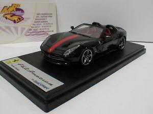 【送料無料】模型車 モデルカー スポーツカー フェラーリアメリカブラックレッドlook smart ls443d ferrari f60 america baujahr 2014 in schwarzrot 143