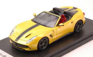 【送料無料】模型車 モデルカー スポーツカー フェラーリアメリカドラブモデルスマートferrari f60 america 2015 giallo tristrato 143 model looksmart