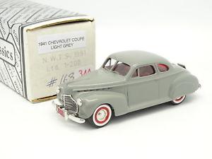 【送料無料】模型車 モデルカー スポーツカー ダラムシボレークーペdurham classics 143 chevrolet coup 1941 grise nwts 1991