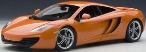 【送料無料】模型車 モデルカー スポーツカー マクラーレンオレンジメタリックautoart 76006 mclaren mp412c 2011 in orangemetallic 118 neu ovp
