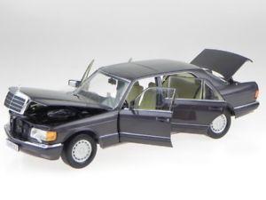 【送料無料】模型車 モデルカー スポーツカー メルセデスクラスモデルカーmercedes w126 560 sel sklasse bornit 91 modellauto 183544 norev 118
