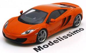 【送料無料】模型車 モデルカー スポーツカー マクラーレンオレンジメタリック118 autoart mclaren mp412c 2011 orangemetallic