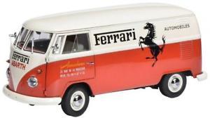 【送料無料】模型車 モデルカー スポーツカー フォルクスワーゲンボックスフェラーリschuco 118 vw t1 kasten ferrari