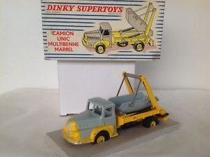 【送料無料】模型車 モデルカー スポーツカー フランストラックユニックマレルコンクdinky toys france n 895 camion unic multibenne marrel jantes concaves