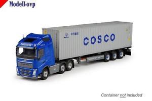 【送料無料】模型車 モデルカー スポーツカー volvo fh04 globe container contrans tekno t 68915