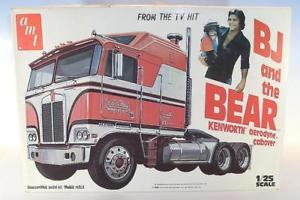 【送料無料】模型車 モデルカー スポーツカー ィスベアキットボックスamt 125 uralt kit kenworth aerodyne cabover bj and the bear in obox 2893