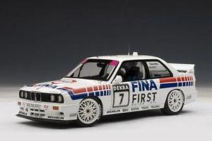 【送料無料】模型車 モデルカー スポーツカー ツーリングカー#bmw m3 3er e30 dtm 1992 cecotto 7 fina tourenwagen 89246 autoart rar 118